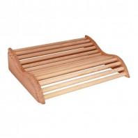 Tetiera anatomica din lemn BASIC PLUS pentru sauna