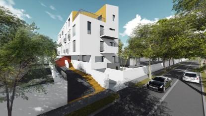 Locuinte colective D+P+2E+M - Bucuresti - str. Peris - 01.11  Bucuresti AsiCarhitectura