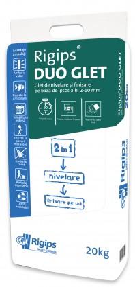 Glet 2 in 1 Rigips® DUO GLET - Renovare rapida cladiri vechi, aplicare manuala