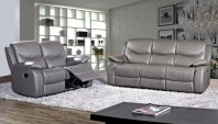 Canapea din piele cu recliner - ALAIS