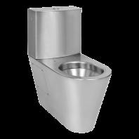 Vas WC din otel inox cu rezervor - SANELA SLWN 15