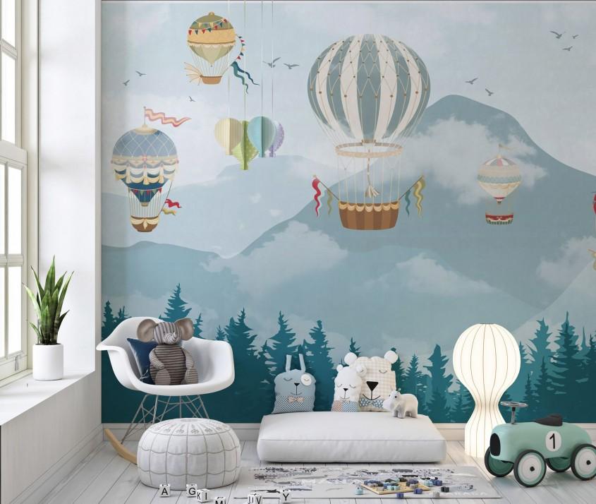 Cum alegi tapetul pentru camera copilului?