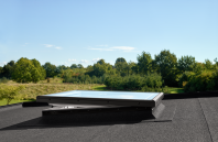 Fereastra cu protectie din sticla plata pentru acoperis terasa - CFP / CVP