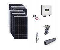 Sistem fotovoltaic on-grid Growatt 3kwp prindere tabla