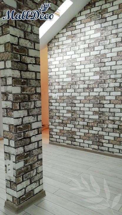 Detaliu amenajare interioara cu tapet MallDeco  Bucuresti TOP RESERVE BUSINESS
