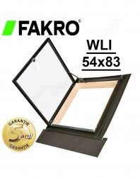 Fereastra luminator Fakro WLI 54x83
