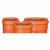 Conducte din PVC-U compact pentru canalizare exterioară