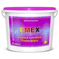 """VOPSEA LAVABILA DE CORECTIE """"EMEX OPTIPLUS"""", Alb, Bidon 24 Kg"""