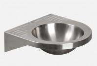Lavoar din otel inox pentru persoane cu dizabilitati - SANELA SLUN 47X