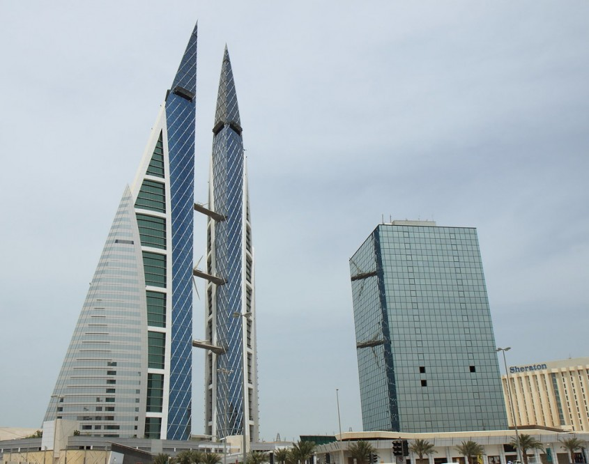 Bahrain World Trade Center, Manama, 2008