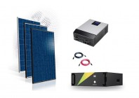 Sistem fotovoltaic Off-Grid 7kw cu baterie LifePo4 100A