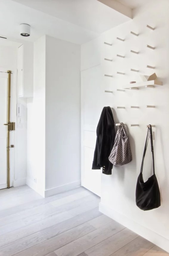 Nu aveți hol de intrare, nicio problemă: 10 soluții pentru spații mici