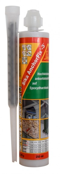 Sika AnchorFix®-3+ - Adeziv bi-component de inalta performanta pentru ancorari