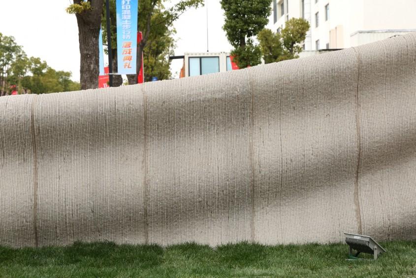 Cel mai lung pod din beton printat 3D