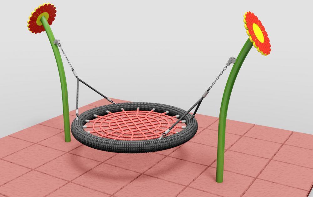 Structura metalica pentru leagane cuib mini