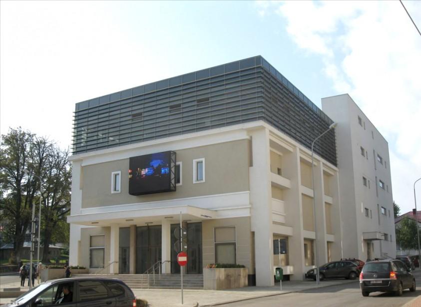 Cinematograful Modern -fatada  Suceava SAINT-GOBAIN CONSTRUCTION PRODUCTS ROMANIA - DIVIZIA RIGIPS