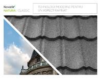 Țigle metalice cu acoperire de rocă vulcanică Novatik NATURA | CLASSIC