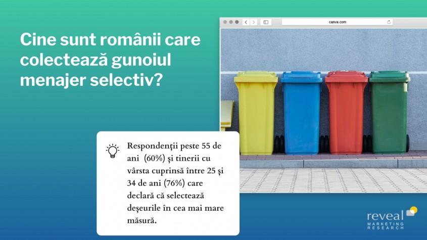 8 din 10 români își colectează gunoiul menajer selectiv – studiu