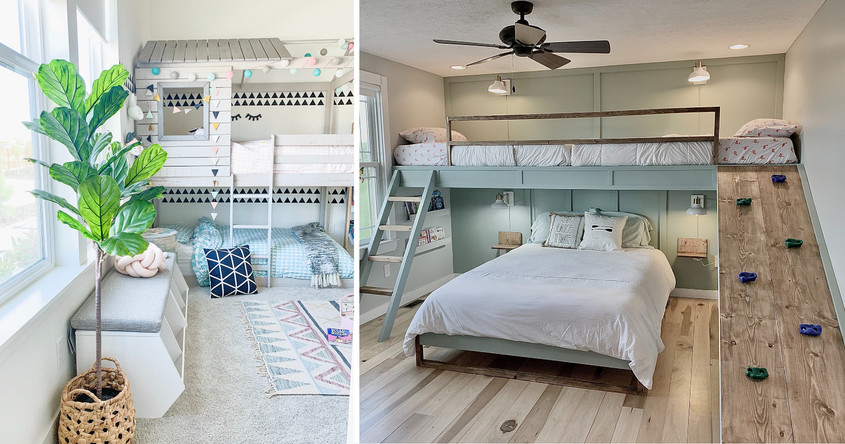 Dormitorul din tavan, o soluţie pentru a câştiga spaţiu într-o garsonieră