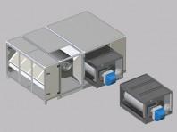 Generatoare de aer cald incorporabile GH - Apen Group