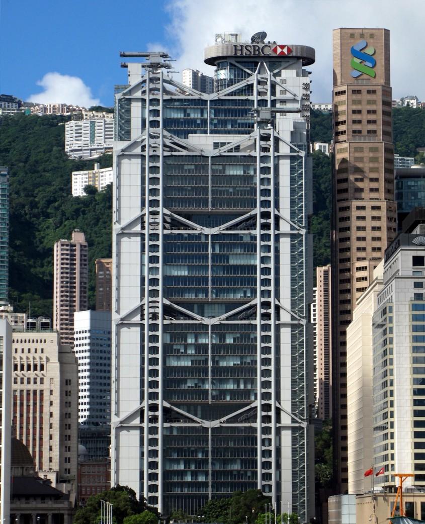 Hong Kong and Shanghai Banking Corporation Headquarters, Hong Kong, 1985