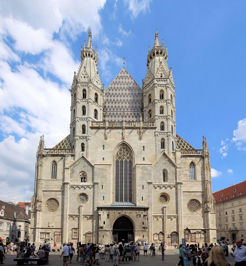 Catedrala Sfantul Stefan din Viena, Austria