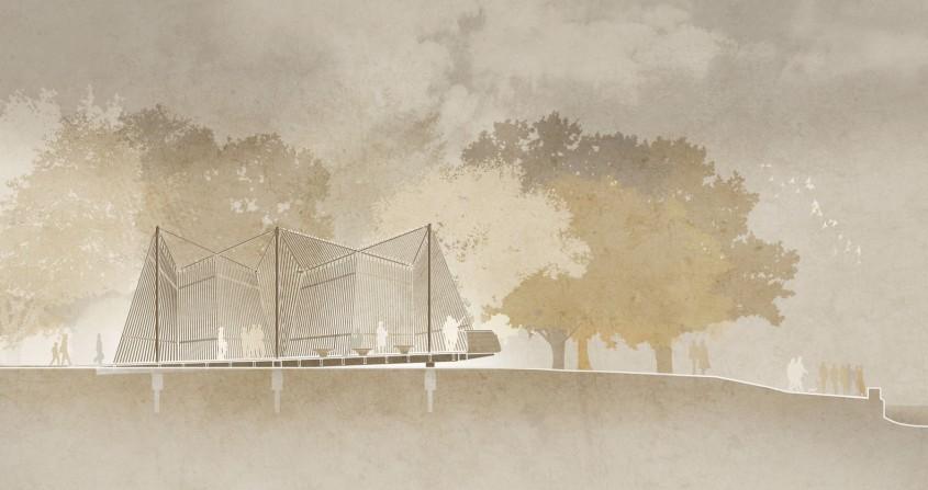 Foster&Partners prezinta o capela diafana pentru primul pavilion al Vaticanului la Bienala de Arhitectura de la