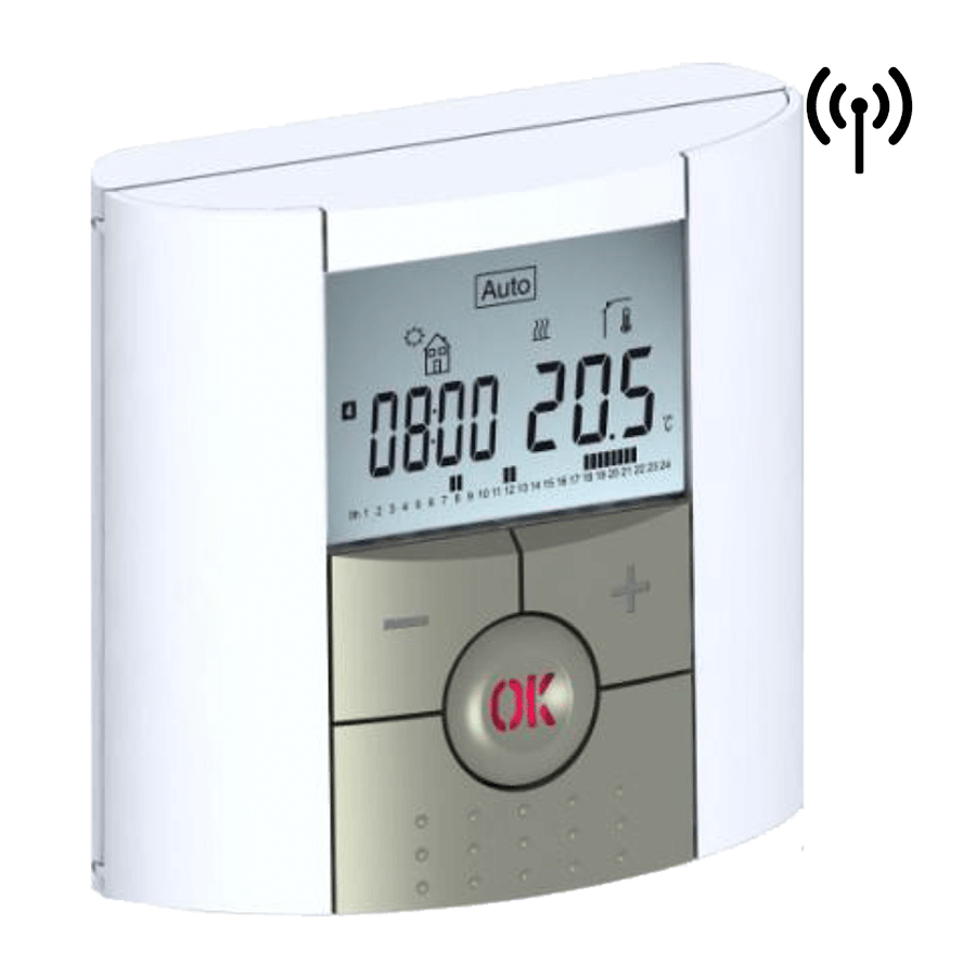 Termostat digital programabil de ambient, cu RF