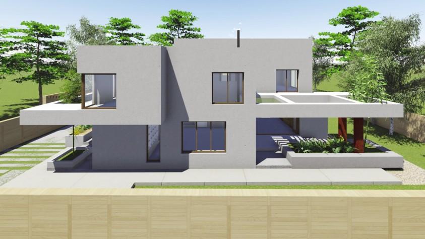 Vila unifamiliala Sp+P+E - Bragadiru 18.11  Bragadiru AsiCarhitectura