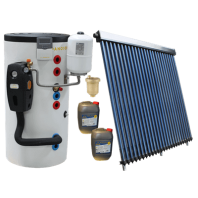 Pachet Solar C204 cu boiler bivalent