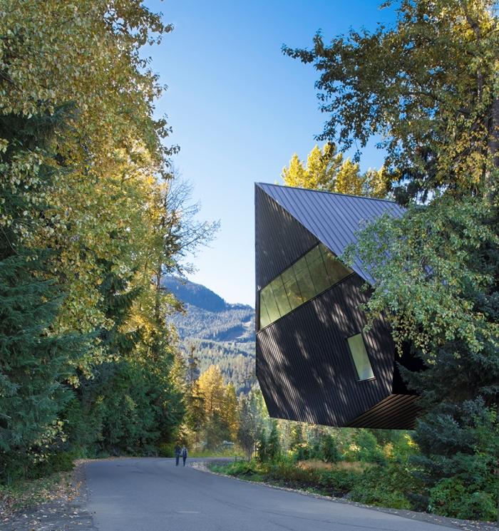 Audain Art Museum de langa Whistler, Canada -  de Patkau Architects