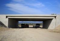 Grinzi prefabricate din beton pentru poduri rutiere
