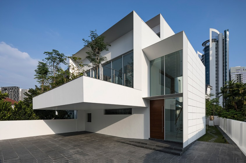 Casa din vârful dealului / Atelier M+A / Singapore