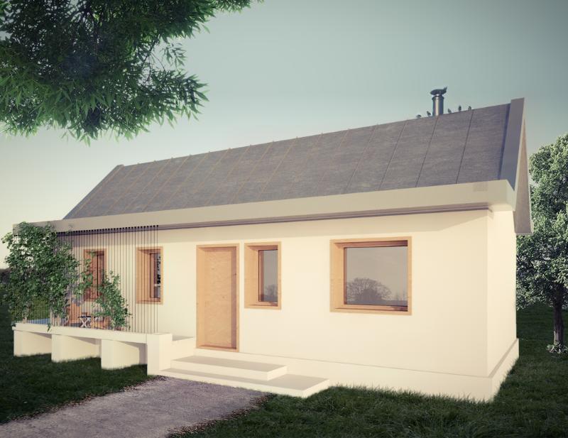 Proiect de casa - 60 mp ArhiProPub