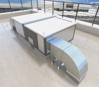 Unitate de ventilatie DUPLEX Multi-N Rooftop