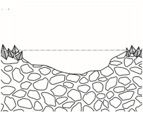 Faza 3 se produce eroziunea dupa indepartarea partiala a crustei piatra este vulnerabila in fata unui