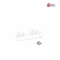 Conector in linie VFC® pentru cabluri paratrasnet