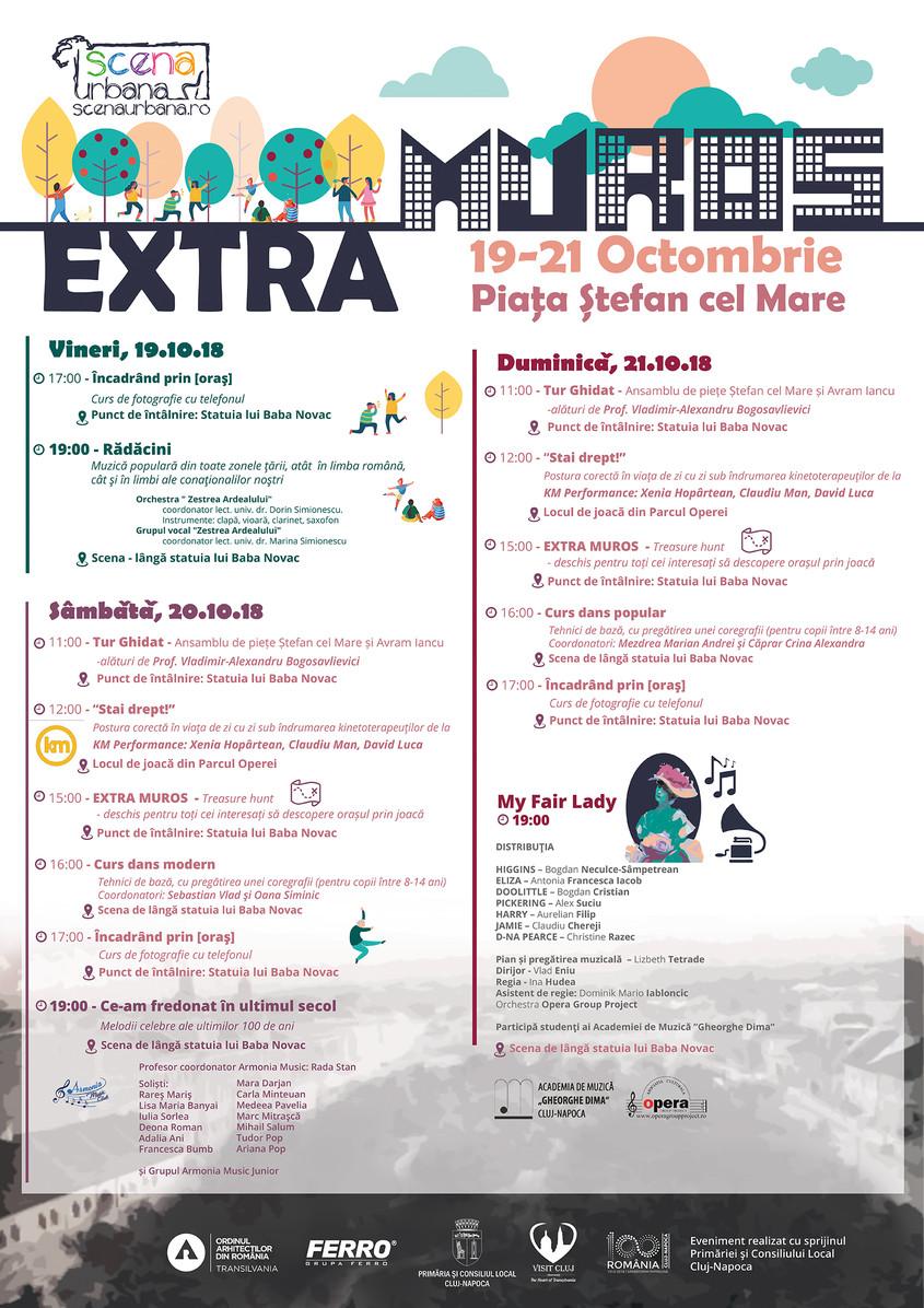 """Scena Urbană revine la Cluj, cu evenimentul """"Extra Muros"""""""