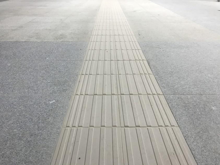 Detalii amenajare pardoseli statie Metrorex  Bucuresti MARMODAV SELECT