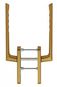 Manere pentru usa glisanta cu ridicare din aluminiu Brest HS-0739