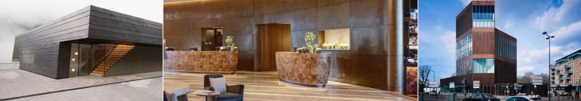Acoperişuri şi faţade din cupru Aurubis – funcţionalităţi în arhitectură