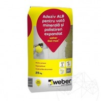 Adeziv alb pentru vata minerala si polistiren expandat - Weber R40 max� Weber Saint Gobain Romania