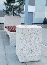 Cos de gunoi din beton Prefabet