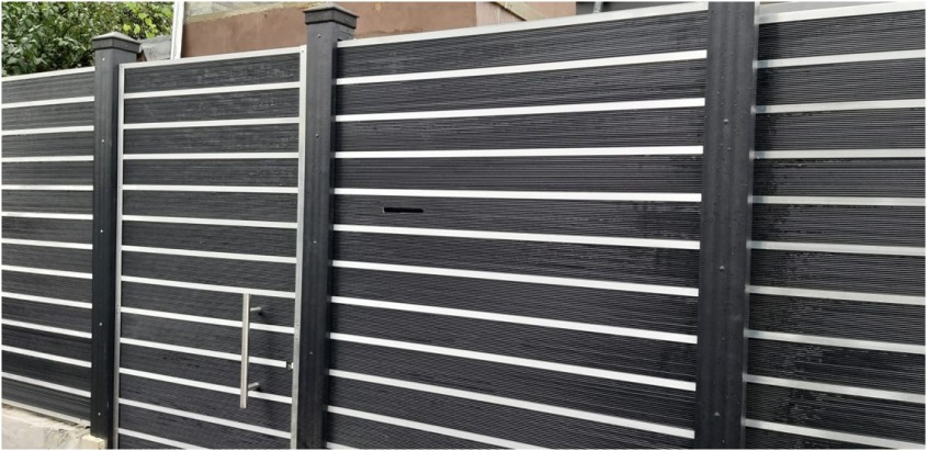 Gard realizat din profile WPC Bencomp