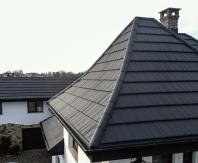 Țiglă metalică Novatik METAL   WOOD - acoperișul cu aspect de șindrilă