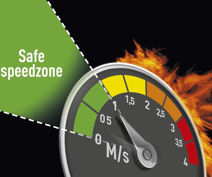 Ușile rapide DYNACO S-5 ATEX pentru zone cu risc ocazional de explozie