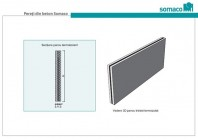 Panouri termoizolatoare / tristat din beton