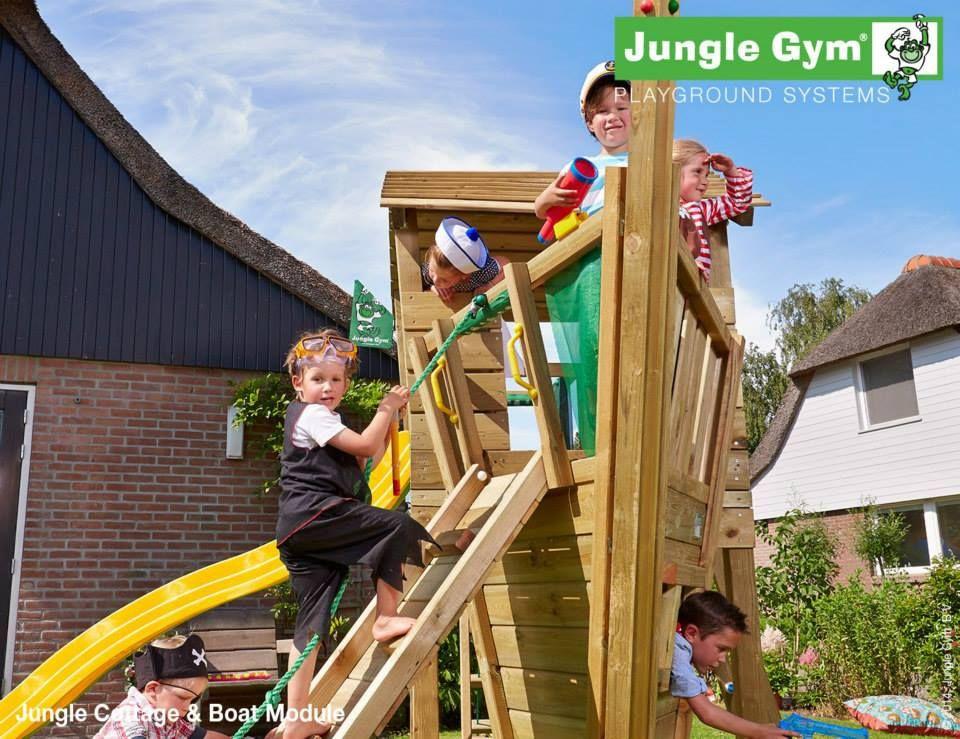 Modul pentru locuri de joaca - JUNGLE GYM BOAT