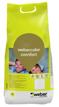 Chit impermeabil si flexibil pentru rosturi 1-6 mm - weber.color comfort
