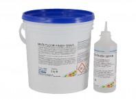 Finisaj poliuretanic bicomponent in dispersie apoasa, alifatic, mat, transparent sau colorat - MAPEFLOOR FINISH 58 W